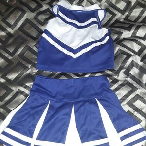 Girls cheer outfit